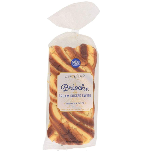 Whole Foods Market Brioche Loaf With Cream Cheese, 14.11 Oz: Amazon.com