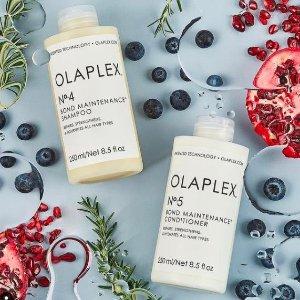全线8.5折Olaplex 惊喜促销来袭 漂染救星 枯木逢春不是梦