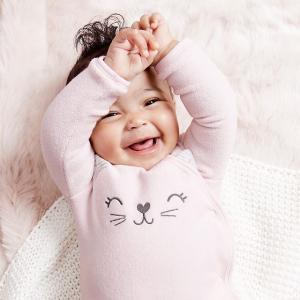 包邮 新品低至4折+满$50额外8折折扣升级:Carter's童装官网  全新新生宝宝系列,基础实用都在这里