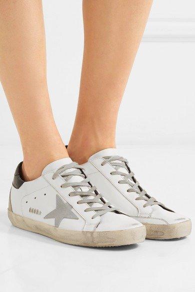Superstar 黑尾脏脏鞋