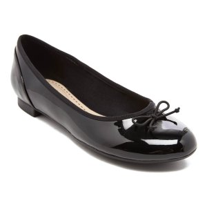Clarks蝴蝶结芭蕾舞平底鞋