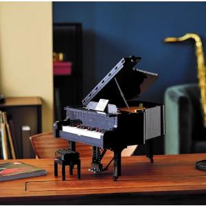 $529.99 10月26日发售补货:LEGO官网  ideas系列 三角钢琴 21323 可弹奏