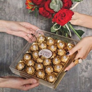 $10.88 丰富美味 送礼经典Ferrero Rocher 费列罗巧克力24枚装
