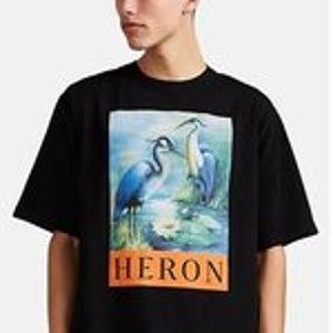 低至7折,入吴亦凡同款Heron Preston 男士服饰热卖,超火仙鹤也有