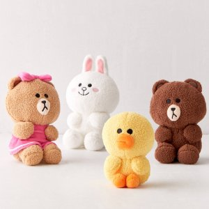 As low as $12Urban Outfitters GUND Line Friends