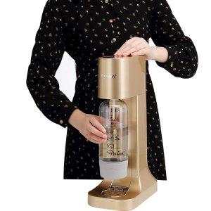 $69.99(原价$129.99)史低价:IBAMA 气泡水制作机 快乐的源泉 香槟金色