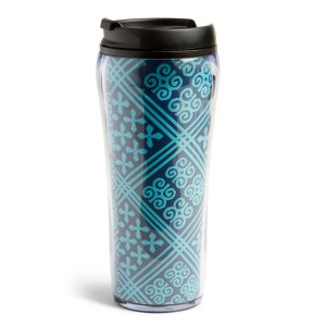 Vera Bradley Travel Mug Cuban Tiles
