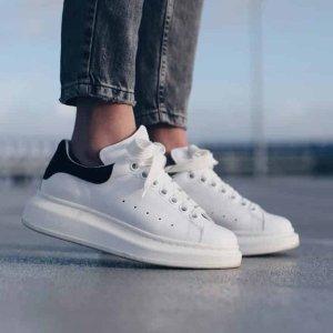 低至6折 £288收小白鞋 新款也有ALEXANDER MCQUEEN 惊喜折扣上线 收小白鞋最佳时机