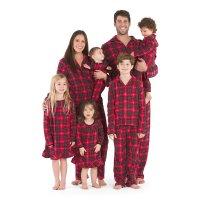 家庭配套抓绒睡衣,以婴儿为例