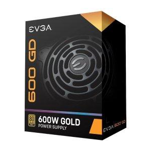 5年只换不修EVGA 600 GD 600W 80 PLUS 金牌电源