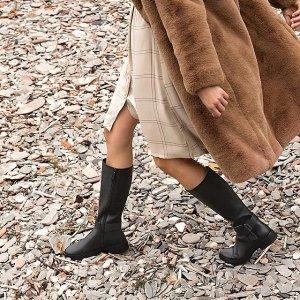 满£100减£20 £125收过膝靴FitFlop 超好穿鞋子全场大促 收新款SW平替过膝靴