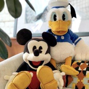仅$6+包邮即将截止:迪士尼官网 豆袋毛绒玩偶优惠