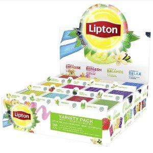 限时7折 平均€0.06/袋Prime Day狂欢价:Lipton立顿茶包 12种口味 180袋仅€11.88