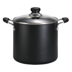 T-fal B36262 Specialty Total Nonstick Dishwasher Safe Oven Safe Stockpot Cookware