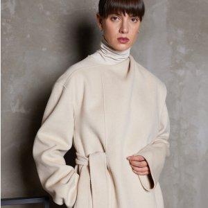 低至2折+正价7折+晒单抽奖最后一天:Oak+Fort 大促,$10起,收封面新款羊毛大衣