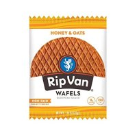 Rip Van 华夫饼干蜂蜜麦片口味 12袋装