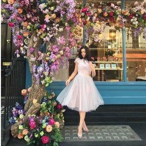 低至5折 £20起收蕾丝裙Chi Chi London官网 美裙季中大促