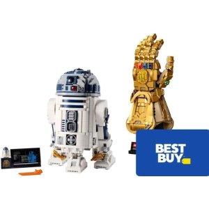 低至5折 最高送$30礼卡限今天:Best Buy 多品牌玩具手办促销, LEGO、星球大战都参加
