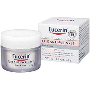 $6.19Eucerin Sensitive Skin Experts Q10 Anti-Wrinkle Face Creme 1.70 oz