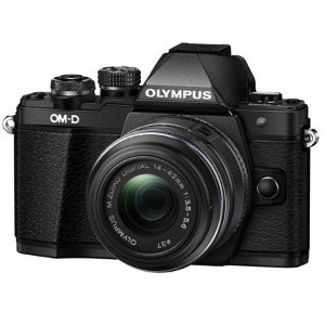 Olympus OM-D E-M10 Mark II微单相机 +14-42mm II 镜头套装