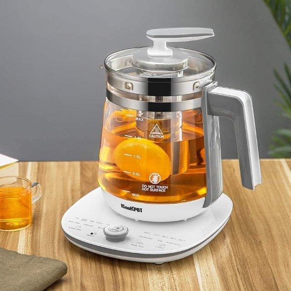 ICOOKPOT 多功能养生壶茶壶,可蒸蛋、做酸奶