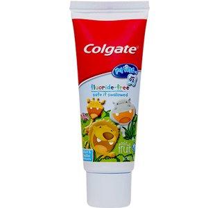 $2.74(原价$3.99)适用于0-2岁Colgate 高露洁 婴幼儿第一支无氟牙膏 轻柔水果味 40ml