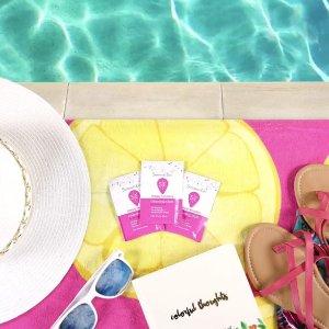 $2.24(原价$4.54) 独立小包装Summer's Eve 女性私处护理湿巾 16片装 经期好伙伴 敏感肌适用