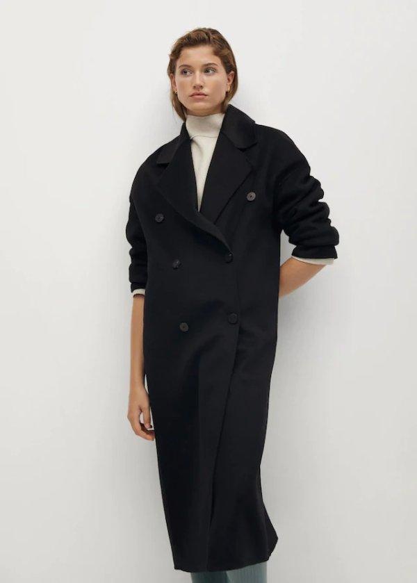 手工羊毛大衣