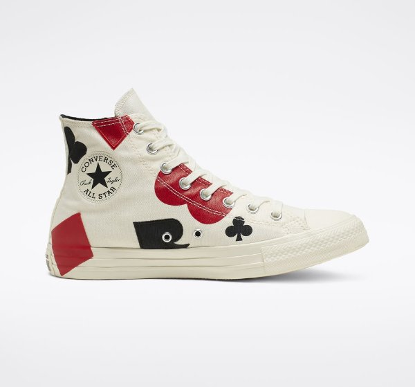 Chuck Taylor All Star Queen of Hearts 男女同款高帮