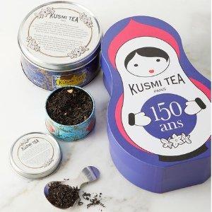 $19.5 (原价$39) 包邮Kusmi Tea 别致俄罗斯套娃包装茶叶 150周年特别版 欧洲经典百年老牌