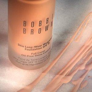 最高享超值4件套  含经典妆前乳Bobbi Brown官网 全场化妆品满额送好礼