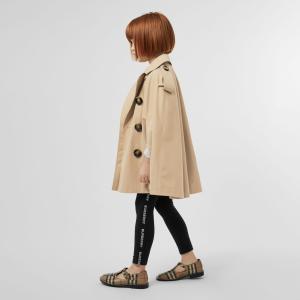 最高送$900礼品卡 变相7.6折 秋冬新款有大码Burberry 童装服饰优惠 新款风衣、卫衣、帽子、衬衫都有