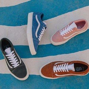 低至3.4折Hype 精选多款Vans经典帆布鞋热卖