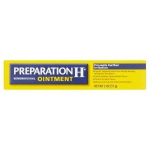 PREPARATION H 痔疮膏,2 Oz