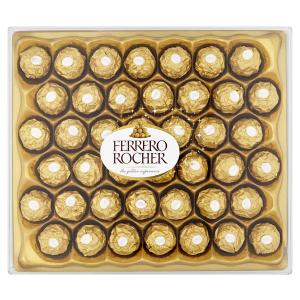 超值价¥117 2件包邮Ferrero Rocher 榛果威化巧克力 42枚装
