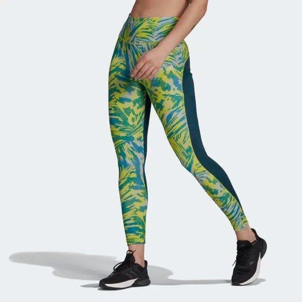 x Zoe Saldana AEROREADY 7/8 运动裤