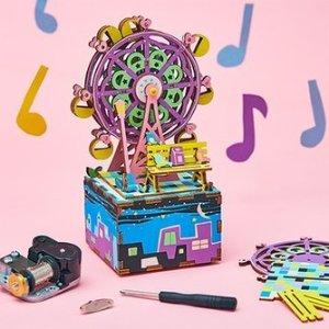 低至$3.99Hands Craft 手工套装特卖 音乐盒、温馨小屋全都有