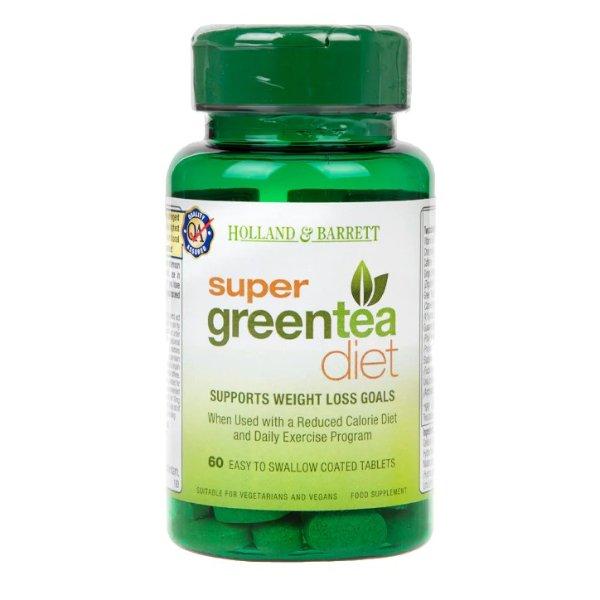 超级绿茶减肥片 60片