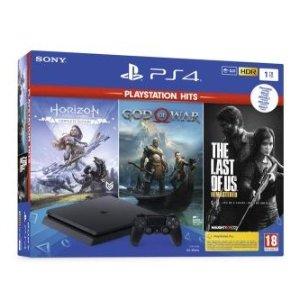 定价优势 仅售€379.99PS4 Slim 1To + 3款经典实体游戏同捆组热卖