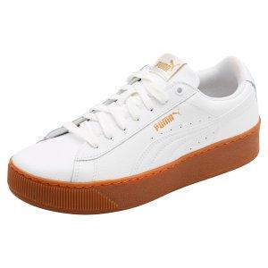 PumaVikky Platform Leather Women's 休闲鞋