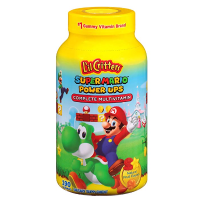 Lil critters 超级玛丽复合维生素软糖,190粒