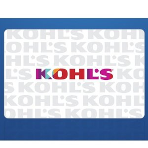 Kohl's 电子礼卡促销