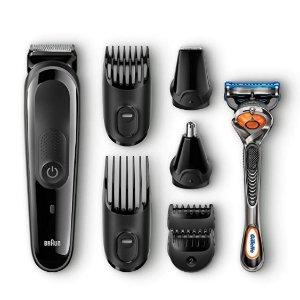 $24.94 (原价$34.94)Braun MGK3060 胡须修剪器、吉列剃须刀组合