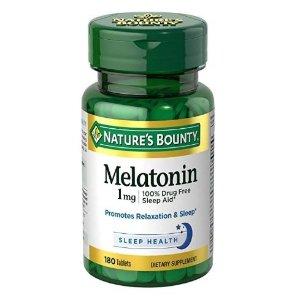 $3.89Nature's Bounty Melatonin 1 mg, 180 Tablets
