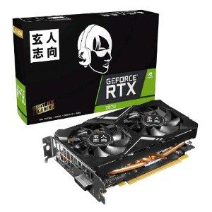 直邮美国到手价$301.8史低价:玄人志向 GeForce RTX 2070 8G Mini 显卡