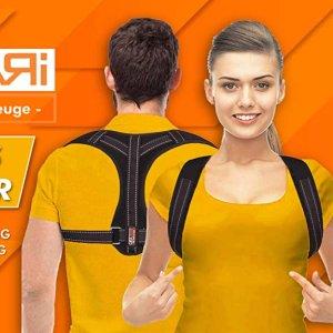 仅售€14.49Gearari 背部矫正背带 简易版更隐形 日常可戴 时刻挺直腰背