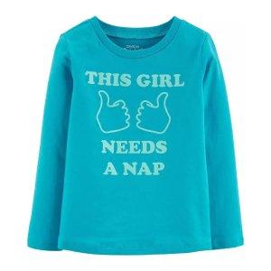 OshKosh B'gosh女婴、幼儿T恤