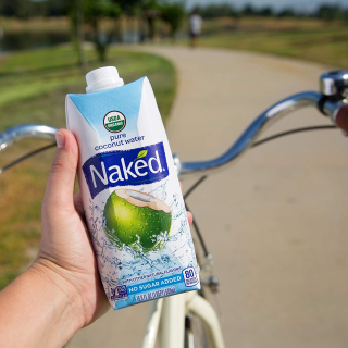 $19.19Naked Juice 100% Organic Pure Coconut Water, 16.9oz, 12 Pack