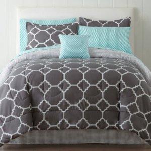 $31.497-pc. Comforter Set Sale @ JCPenney