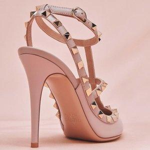 低至3折 绑带鞋$279Valentino 美鞋美包热卖 帅气优雅铆钉鞋